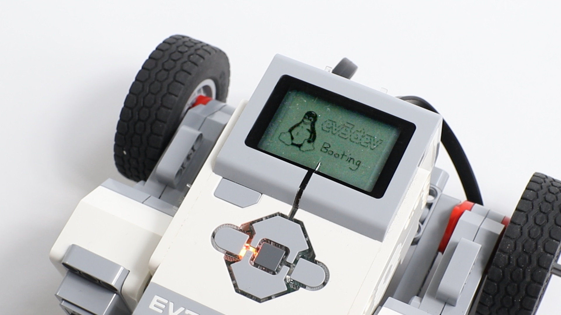 LEGO EV3 running Linux with Python and MicroPython