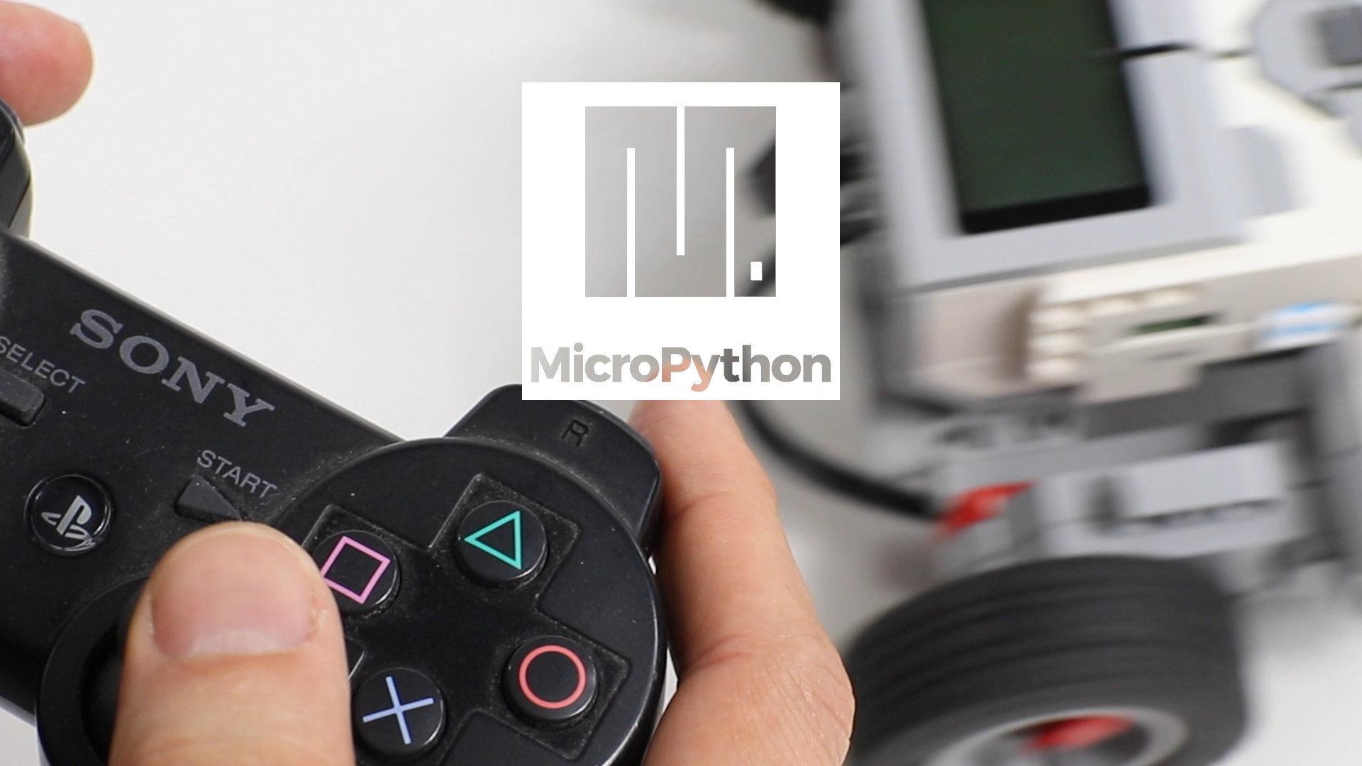 Micropython On LEGO MINDSTORMS EV3