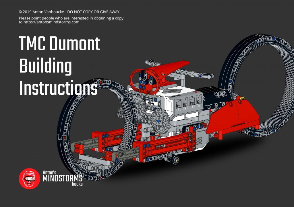 TMC Dumont building instructions for LEGO MINDSTORMS on patreon