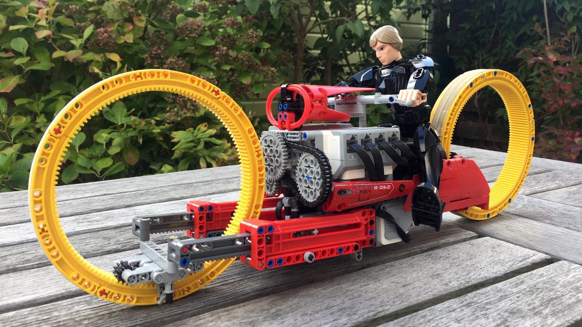 LEGO MINDSTORMS TMC Dumont building instructions