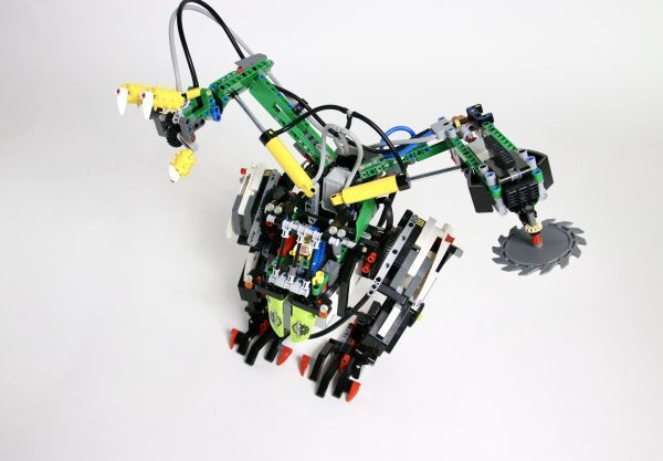 Forest Mechsuit Top View PDF Building Instructions