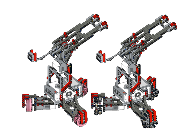 rubber band cannon omnibot LEGO MINDSTORMS