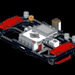 LEGO MINDSTORMS F1 steering wheel