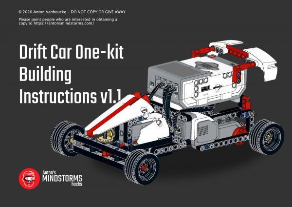 drift car building instructions og