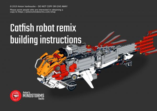 Catfish building instructions with MINDSTORMS EV3