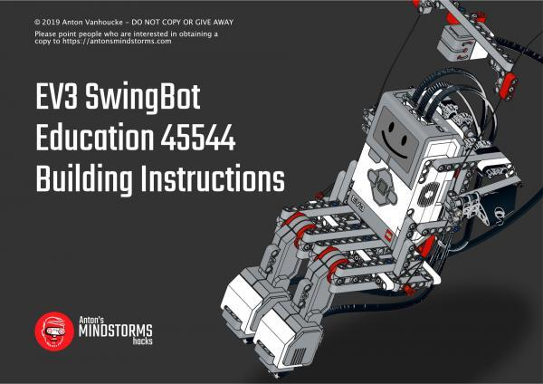 EV3 Swingbot Education Building Instructions