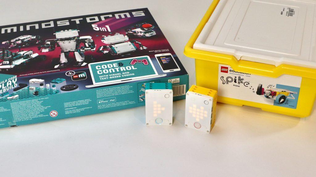 LEGO 51515 vs. SPIKE Prime hubs