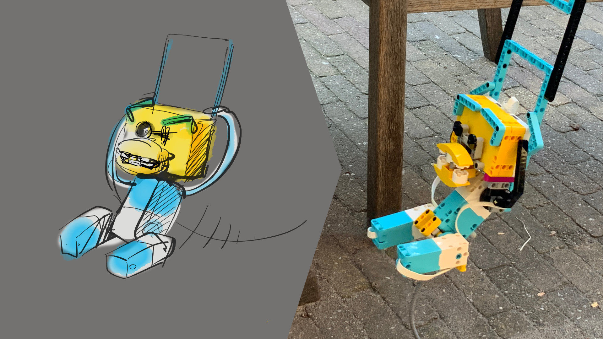 lego robot swing design article