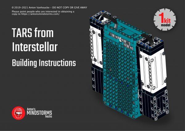 mindstorms tars building instrucitons