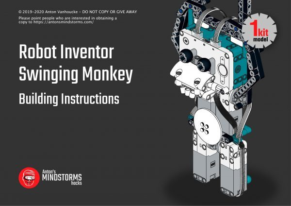 Monkey Swing Building Instructions front page
